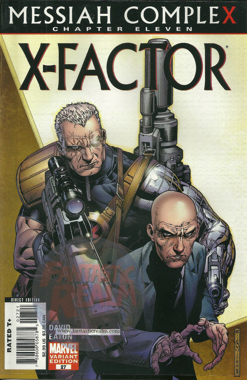 X-FACTOR #27: Messiah Complex Chapter 11 (2005 Series) CHEUNG Variant