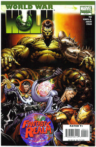 WORLD WAR HULK  #4 [OF 5] (2007) MARVEL COMICS