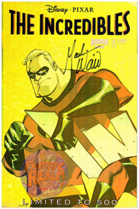 THE INCREDIBLES DISNEY PIXAR COVERS A & B SIGNED BY MARK WAID LIMITED TO 500