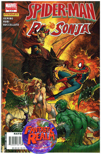 SPIDERMAN RED SONJA #1 & 4 OF 5 VENOM TURNER COVER MARVEL COMICS DYNAMITE
