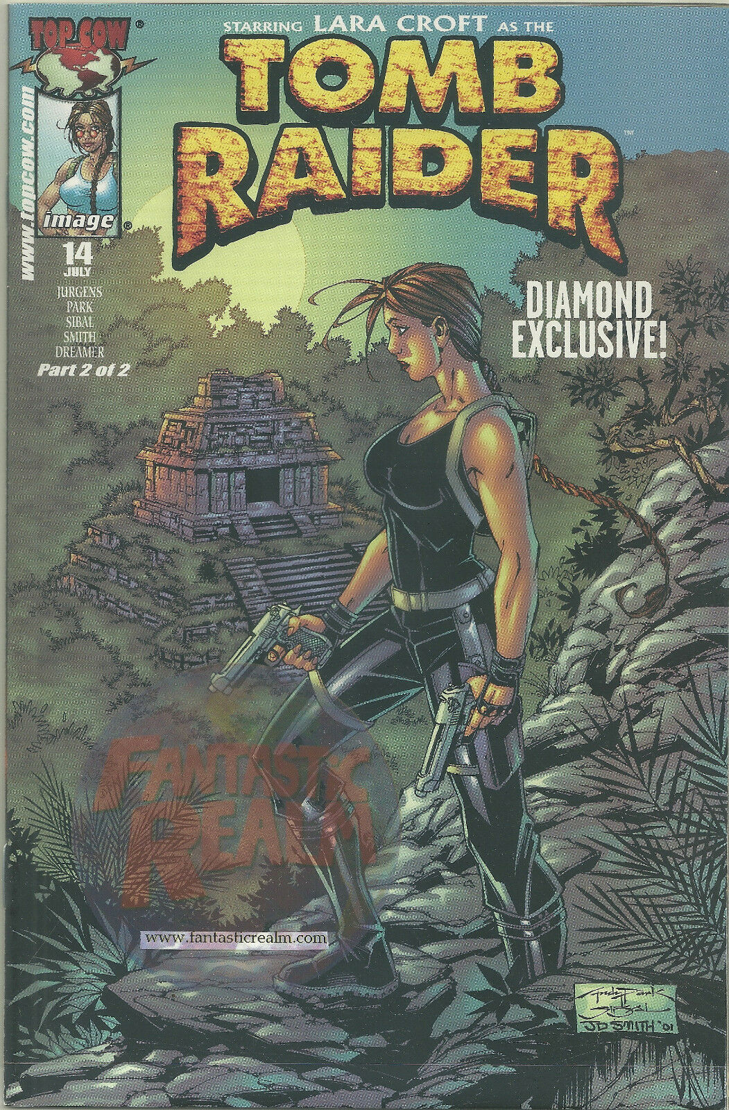 Tomb Raider #14 Diamond Exclusive Cover (Top Cow/Image)