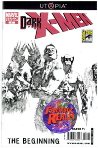 DARK X-MEN #1: THE BEGINNING SAN DIEGO COMIC CON (2009) EXCLUSIVE VARIANT COVER