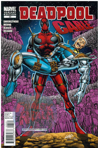 Deadpool Cable #25 Liefeld 1:25 Variant (2010) MARVEL COMICS