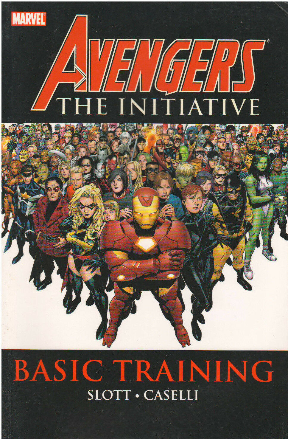Avengers The Initiative Basic Training Vol. 1 Marvel