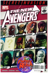 THE NEW AVENGERS #42 SECRET INVASION MARVEL COMICS