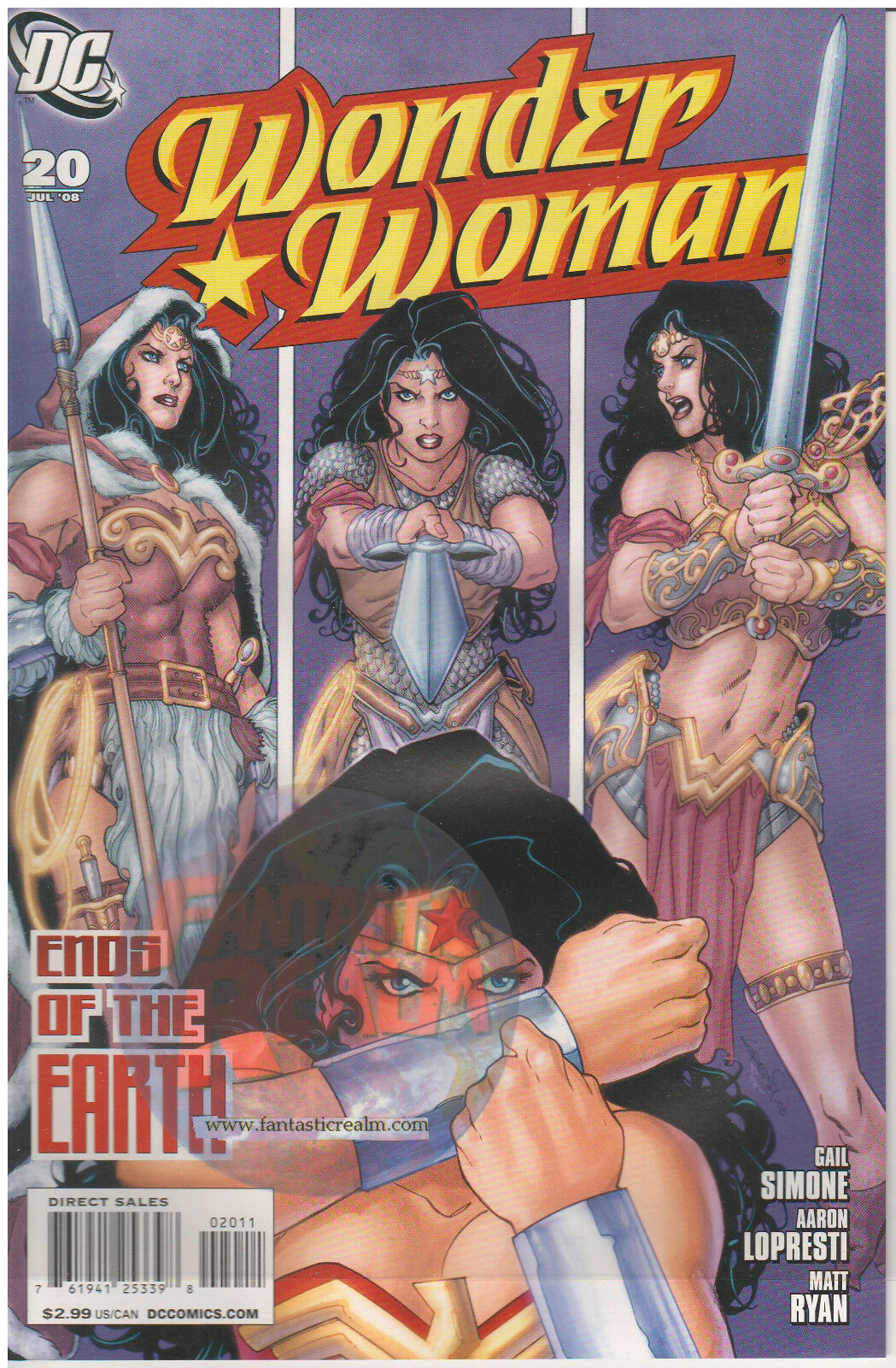 WONDER WOMAN #19 & 20 DC COMICS