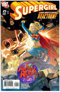SUPERGIRL #25 & 26: ACTION AND REACTION DC COMICS