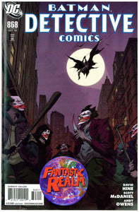 BATMAN DETECTIVE COMICS #868 & 869 JOKER DC COMICS