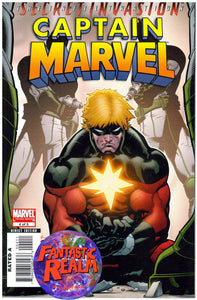 CAPTAIN MARVEL #4 OF 5: LIMITED SERIES SECRET INVASION MARVEL COMICS