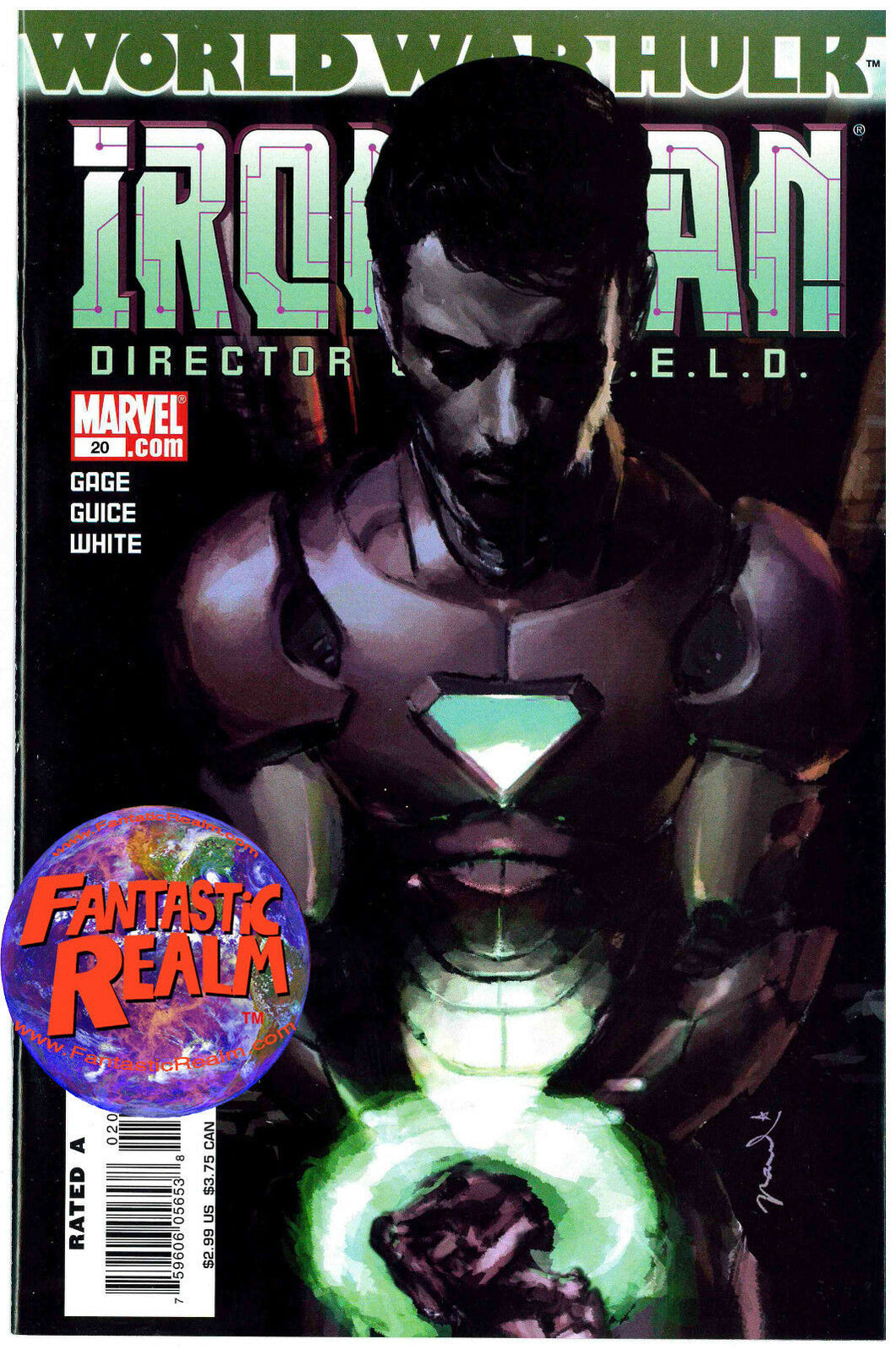 WORLD WAR HULK IRON MAN #20 DIRECTOR OF SHIELD MARVEL COMICS