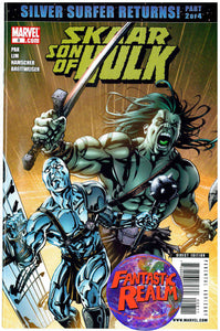 SKAAR: SON OF HULK #8 SILVER SURFER RETURNS MARVEL COMICS