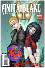 Load image into Gallery viewer, ANITA BLAKE VAMPIRE HUNTER #2 VARIANT & 2 of 2 LIMITED: FIRST DEATH MARVEL COMIC