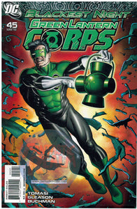 Green Lantern Corps #45 Brian Bolland Blackest Night Variant DC (2010)