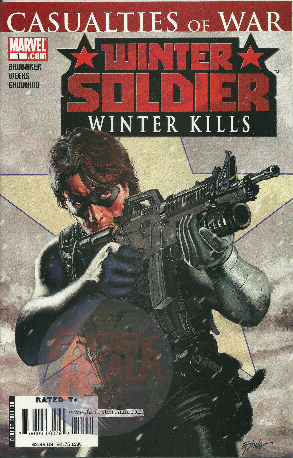 WINTER SOLDIER: WINTER KILLS #1 (2007) Marvel Comics