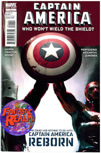 CAPTAIN AMERICA: WHO WILL WIELD THE SHIELD? ONE SHOT #1 MARVEL COMICS