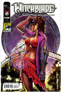 WITCHBLADE #128C SIGNED STJEPAN SEJIC SAN DIEGO COMIC CON TOP COW