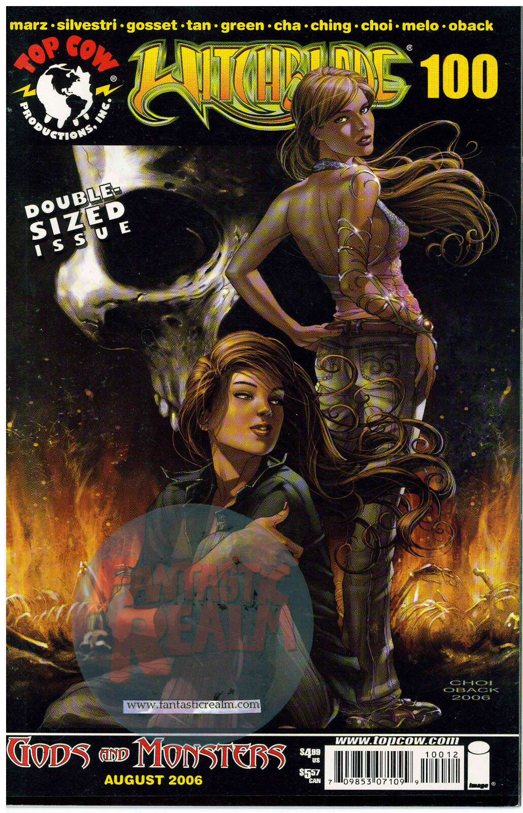 Witchblade #100 Choi Cover (2006) Image Comics