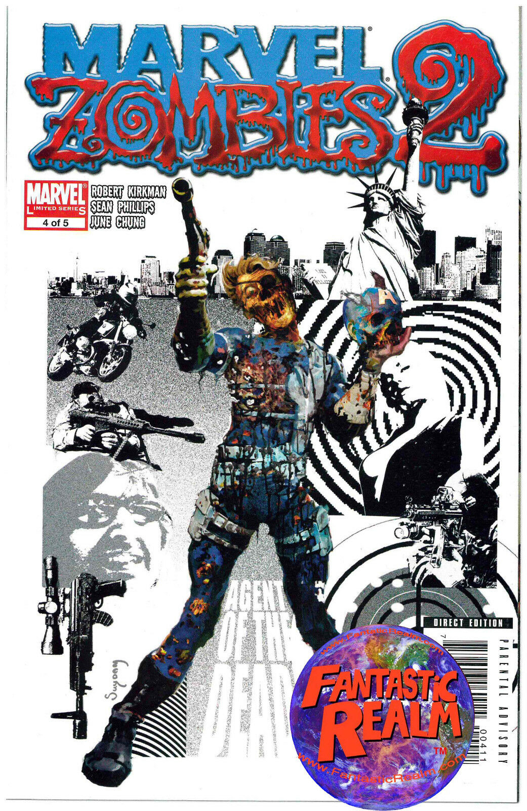 MARVEL ZOMBIES 2 #4 of 5 MARVEL COMICS