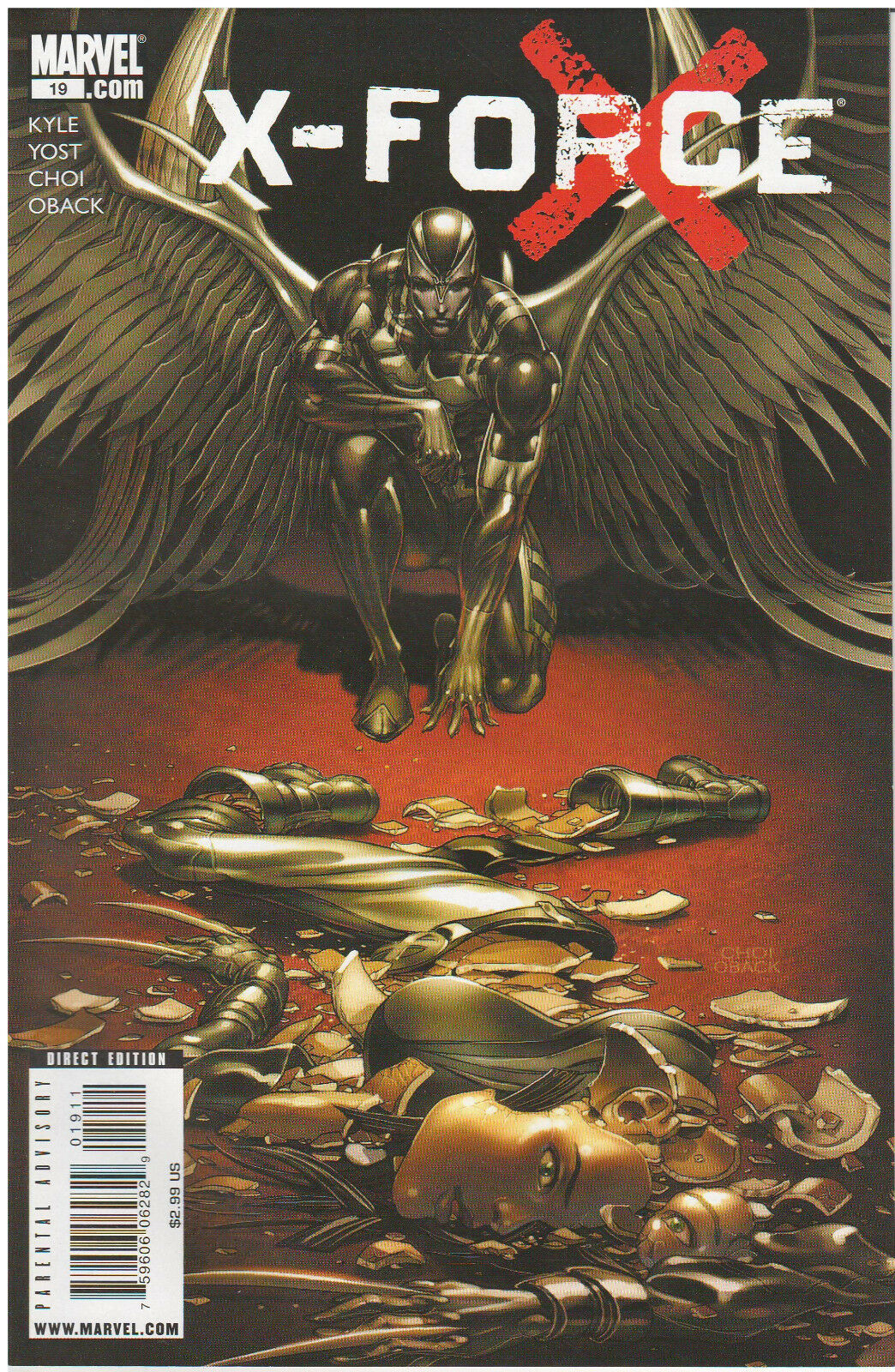 X-FORCE #19 (2008) MARVEL COMICS