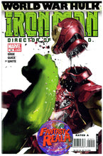 Load image into Gallery viewer, WORLD WAR HULK IRON MAN #19 FIRST PRINT & #19 VARIANT 2ND PRINT MARVEL COMICS