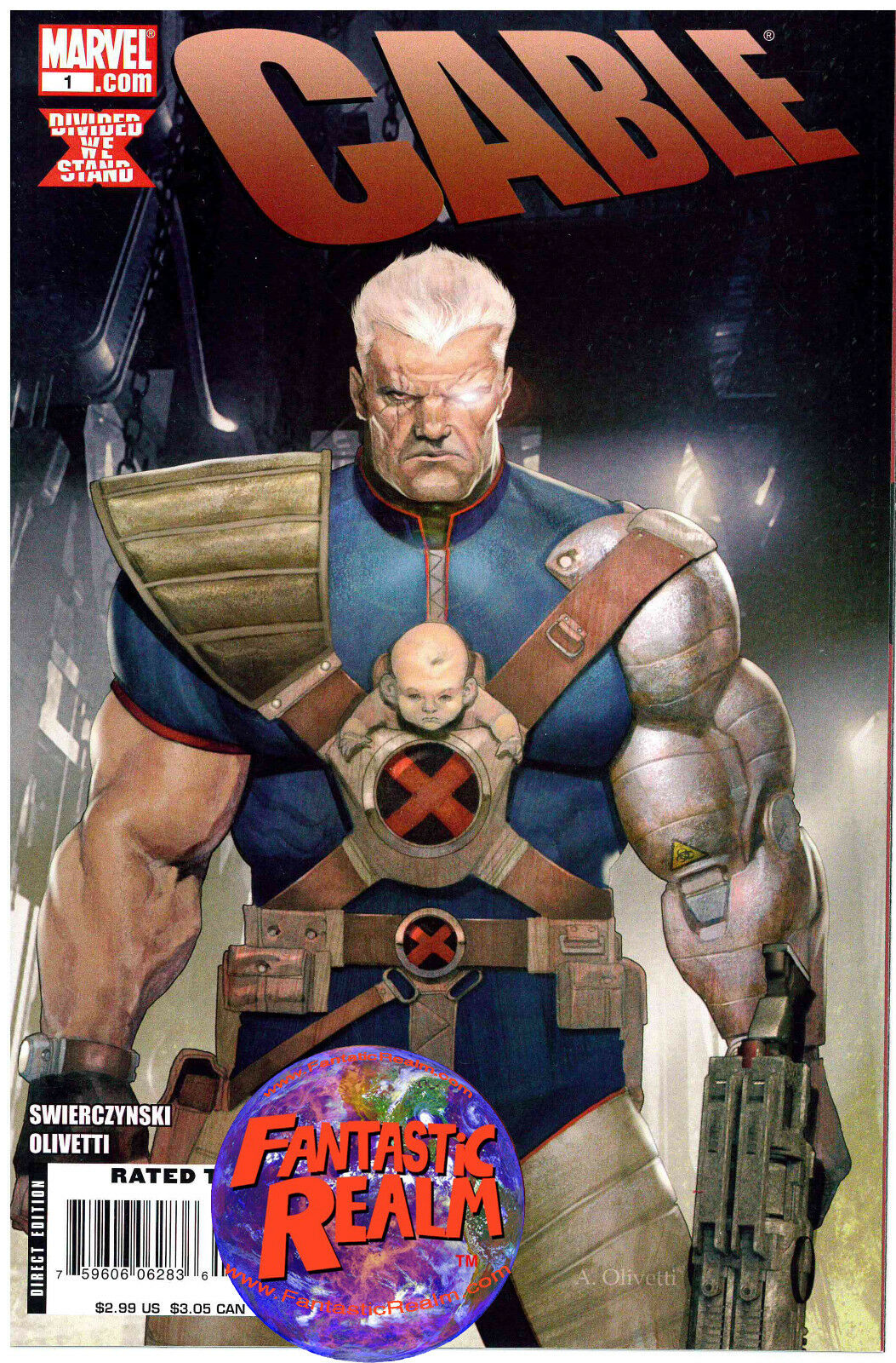 CABLE #1 & 2 ARIEL OLIVETTI COVERS MARVEL COMICS