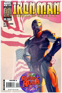 IRON MAN DIRECTOR OF SHIELD #21 (2007) MARVEL COMICS