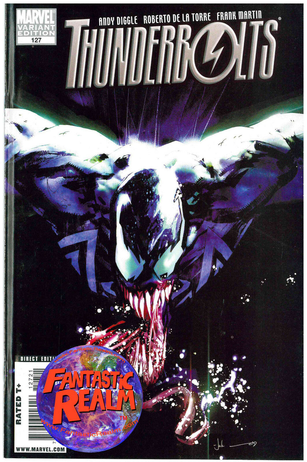 THUNDERBOLTS #125 & 127 1:10 VILLAINS VARIANT VENOM MARVEL COMICS