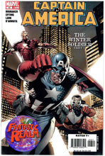 Load image into Gallery viewer, CAPTAIN AMERICA #12 & 13 PART 4 & 5 WINTER SOLDIER FIRST PRINT MARVEL COMICS