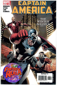 CAPTAIN AMERICA #12 & 13 PART 4 & 5 WINTER SOLDIER FIRST PRINT MARVEL COMICS