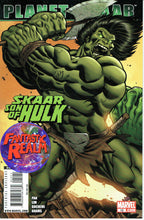 Load image into Gallery viewer, PLANET SKAAR SON OF HULK #12 & 12 HULK VARIANT CONNECTING COVERS MARVEL COMICS