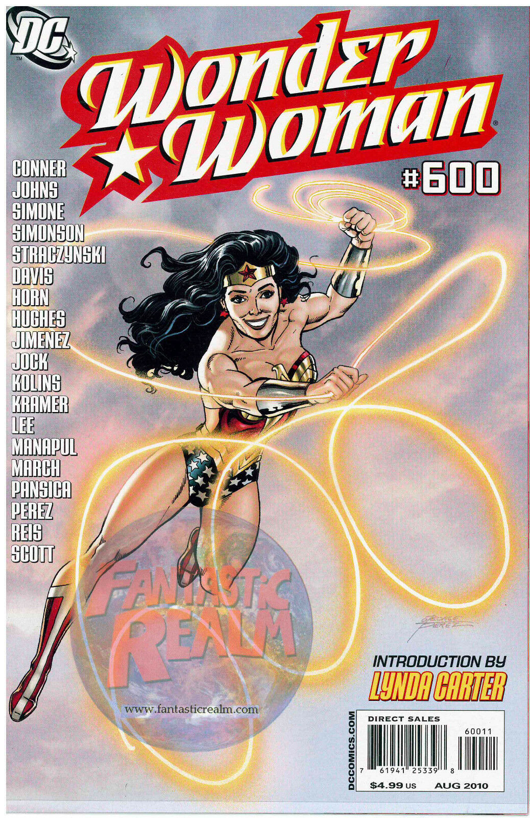 Wonder Woman #600 DC Comics New Costume