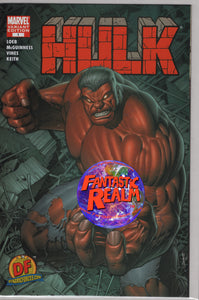 HULK #1 VARIANT 1ST APPEARANCE OF RED HULK RARE WITH COA MARVEL COMICS