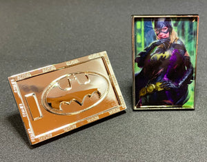 BATGIRL #12 ARTGERM INSPIRED CHALLENGE COIN LIMITED EDITION
