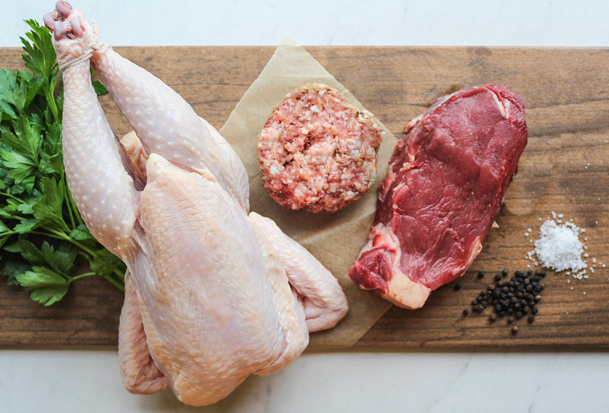 Organic Alabama Beef, Chicken and Pork