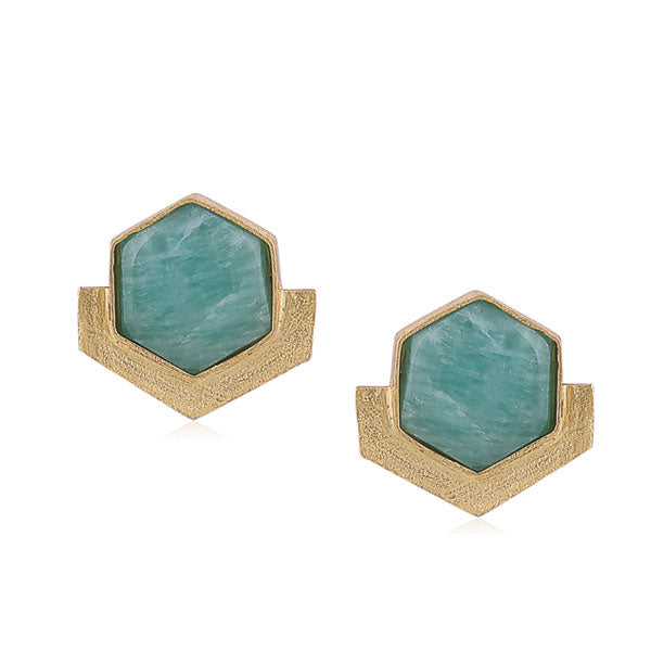 Orchard Studs- Ice blue