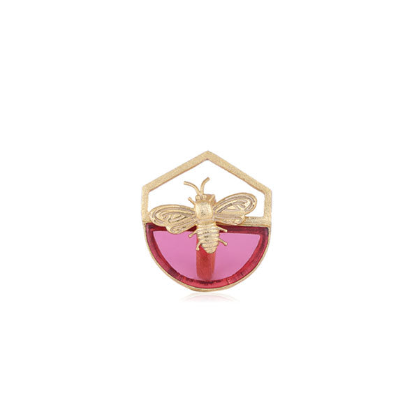 Busy Bee Ring- Pink