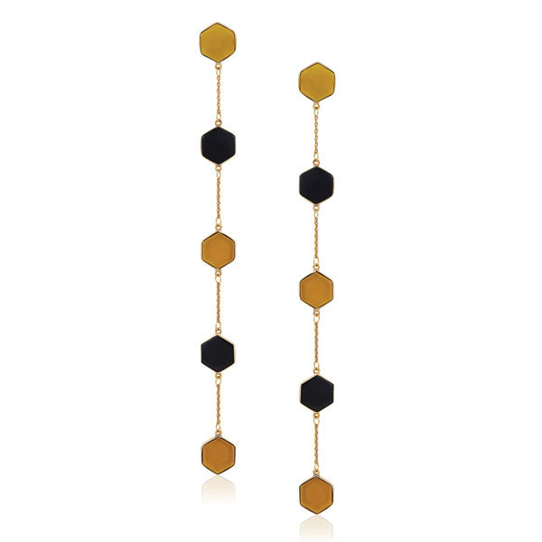 Pollen Earrings- black