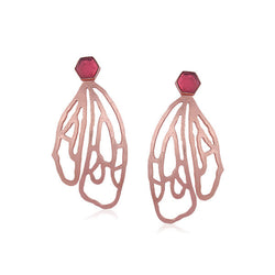 Fantasia Earrings-Rose Gold