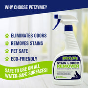 Petzyme Pet Stain & Odor Remover