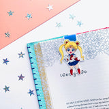 Sailor Moon Inspired Magnetic Bookmark