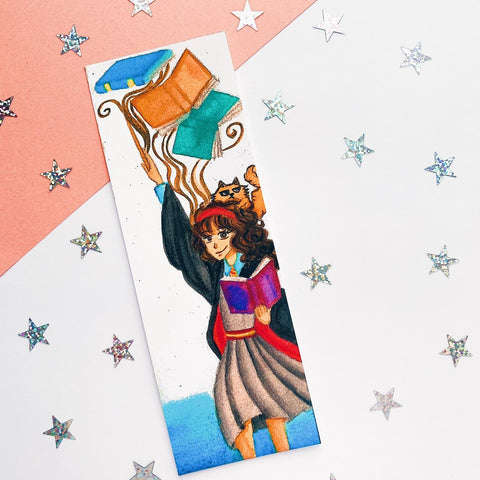 Hermione Inspired Bookmark