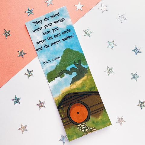 The Hobbit Inspired Bookmark
