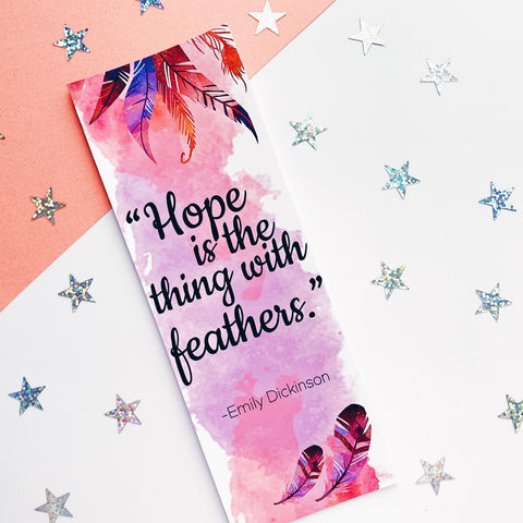 Hope Quote Bookmark