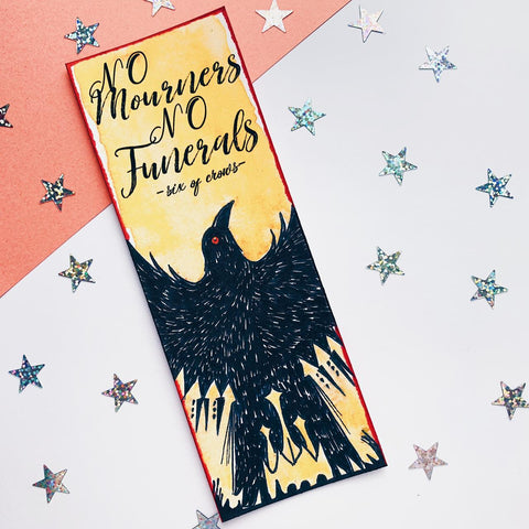 Six of Crows Inspired Bookmark