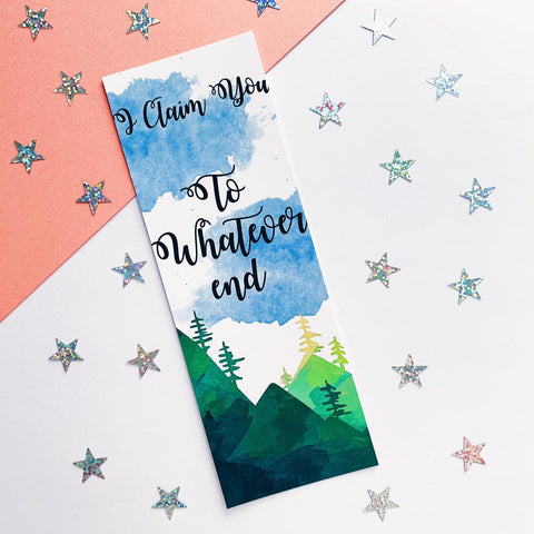 ToG quote Inspired Bookmark