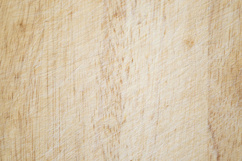 Scratched Wooden Cutting Board
