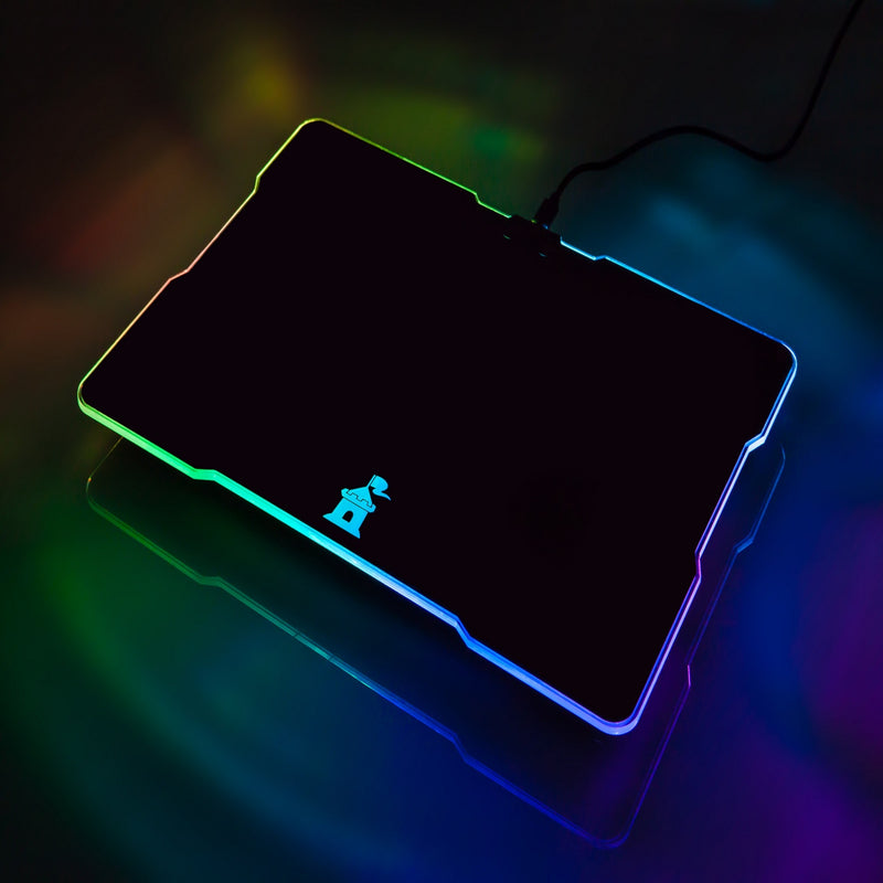 Castle Moat RGB Mouse Pad Backlit