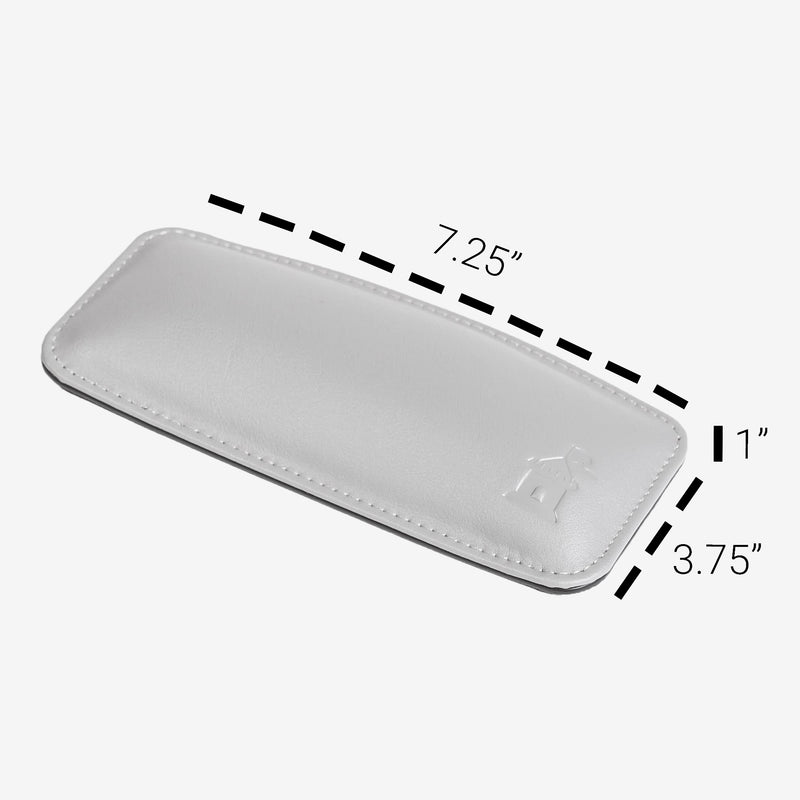 Castle Motte Ergonomical Mouse Wrist Rest Gray With Measurements