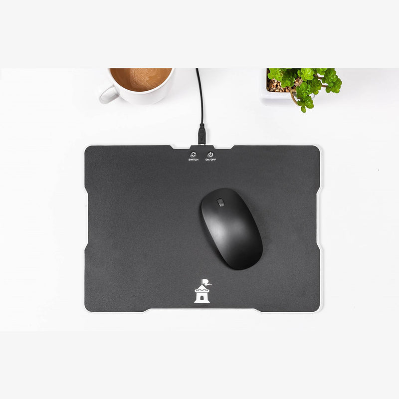 Castle Moat RGB Color Mouse Pad Display