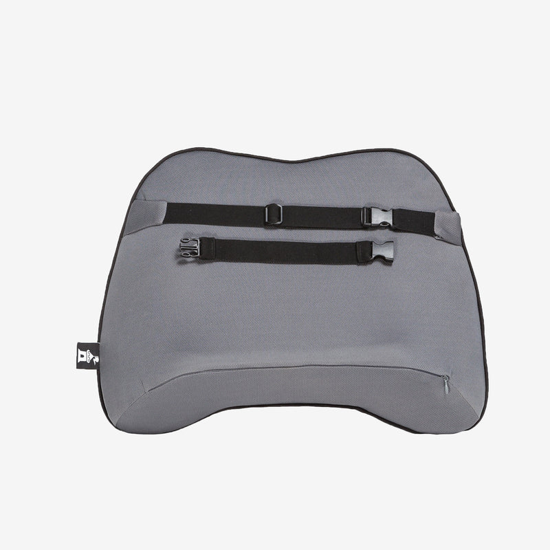 Castle Squire Bulwark Backrest Cushion Straps Gray